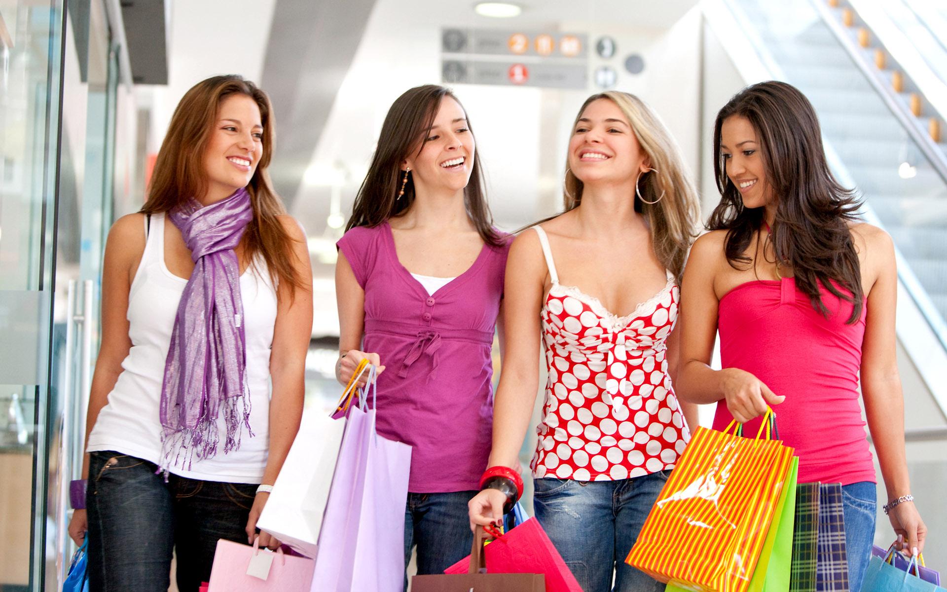 Картинки женский шоппинг