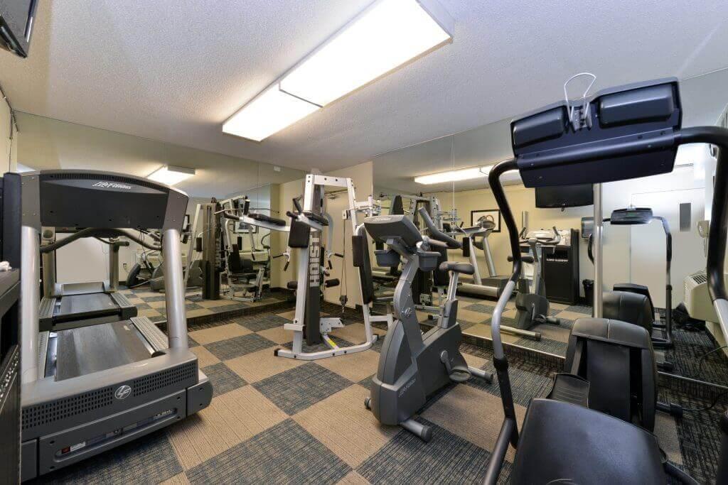 Fitness Room Best Western Plus Regency