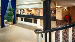 Best Western Plus Regency Front Desk